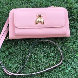 Handbags - Pink Wallet on Chain